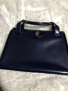 Valentino Garavani Office Bag in Navy Blue