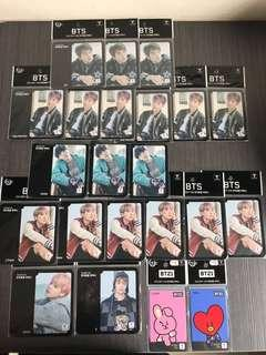 BTS & BT21 T-money Card