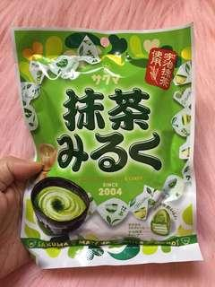 Matcha Milk Candy