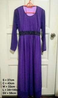 Purple Dinner Dress