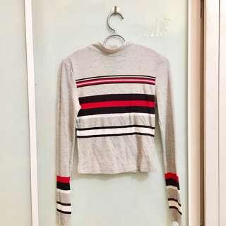 Bershka Striped Top