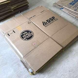 Large Cardboard Boxes (50x50x50cm and 60x50x50cm) - House Moving