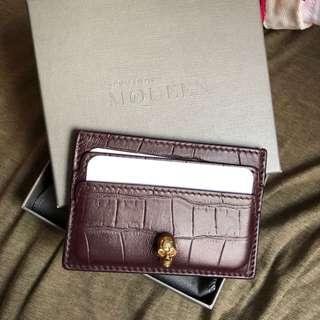 🈹️Alexander McQueen card holder