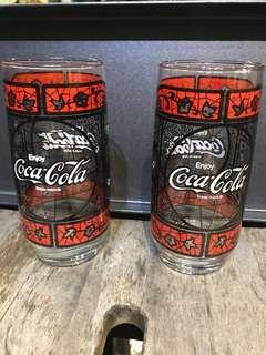 Coca Cola 杯一對