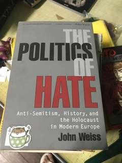 The Politics of Hate book