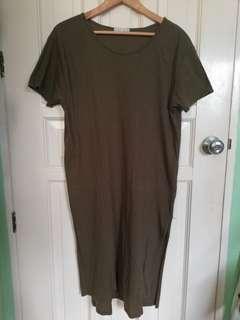 Zara Plus Size Tshirt Dress