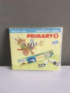 Yamaha music course primary 1 dvd