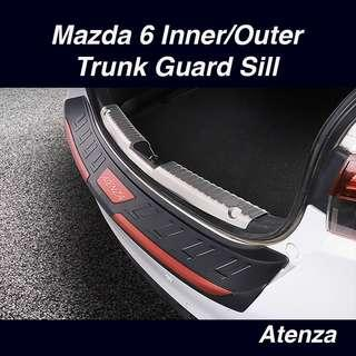 Mazda 6 Inner/Outer Trunk Guard Sill