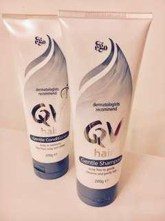 QV ( Australian ) Hair Shampoo & Conditioner.