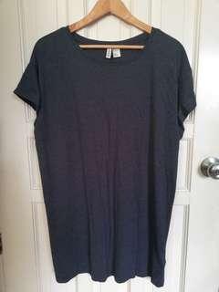 H&M Plus Size Tshirt Dress