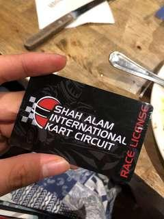 Go kart Card with RM400 credit only RM300