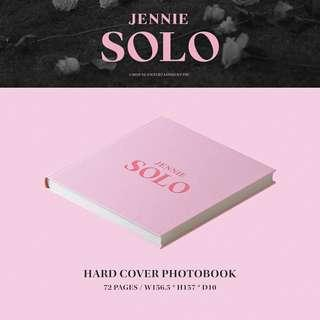 jennie SOLO CD + photobook with photocard, lyrics card and folded poster