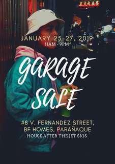 💯 GARAGE SALE 💯