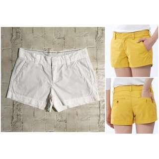 Uniqlo White Chino Shorts