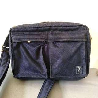 Porter Sling Bag / Indigo series / Navy Blue
