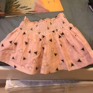 Seed mini pink skirt