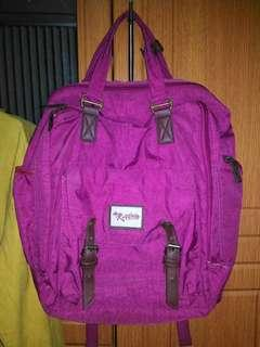 Ruffles Backpack with Laptop Sleeve