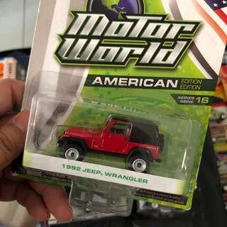 Greenlight Jeep Wrangler