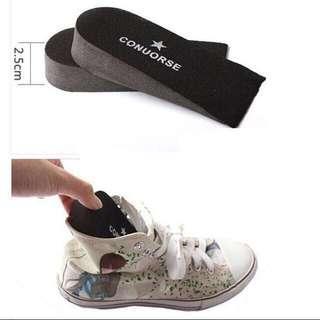 Korean Shoes Insoles!! Taller 2cm! Instocks!! Unisex, suit all!!