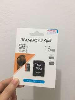 Brand new sealed micro sd card