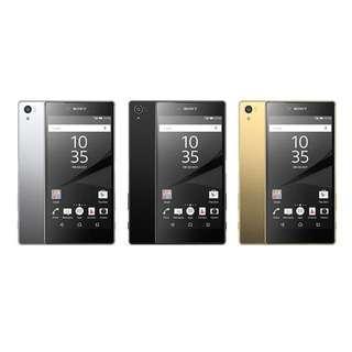 SONY Xperia Z5 Premium 4K螢幕   5.5吋  金色  指紋辨識 防水防塵  3G/32G