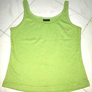 Green Tank Top fits Size S