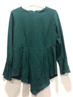 Emerald Green Top