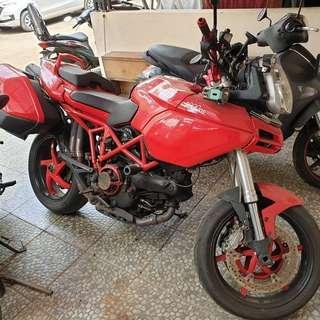Moge Ducati multi strada 1000DS fullpaper