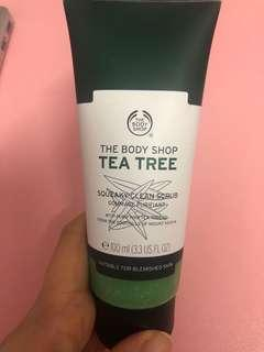 The Body Shop Tea Tree Mattifying Lotion #beauty50
