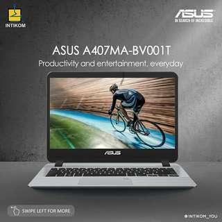 Kredit Laptop ASUS A407MA-BV001T Proses Cepat 3 Menit Bisa langsung dibawa pulang