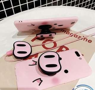 [LAST PIECE] OPPO A7/AX7 Cute Pig Piggy Case!