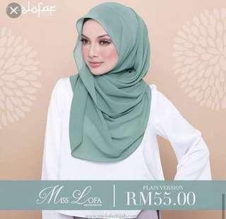 Naelofar Hijab miss lofa