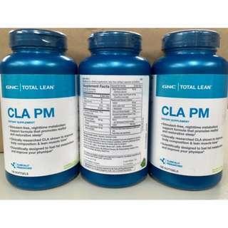 🌳旺角門市🌳🌳(2樽裝) 💥 💥GNC CLA Tonalin® CLA PM 120粒 睡眠減肥配方💥共軛亞麻油酸 睡眠配方 線條元素 有助減少體內脂肪,增加肌肉 建立動人線條 配合 Burn 60 效果更佳