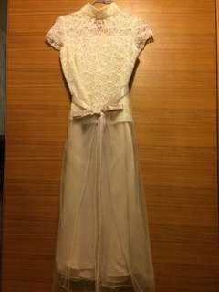 Cocktail dress 香檳金色宴會裙