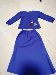 Clearance! Baju kurung moden for toddler