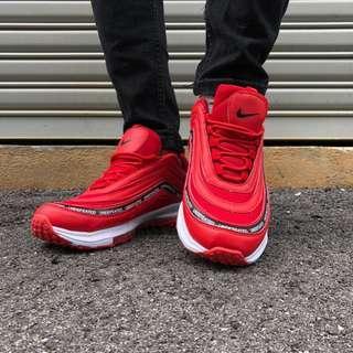 Nike Airmax 97 Red Size 6.5uk 40 euro