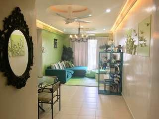 Partly furnished Condo for Rent