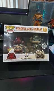 Funko Junkrat and Roadhog OVERWATCH