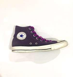 Original High Cut Purple Converse (Size 7)