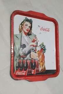 Vintage COCA COLA Tin Plate/Tray Collectible