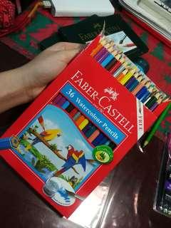 Faber Castell Watercolor Pencils
