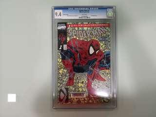 Spiderman #1, CGC 9.4, Platinum Edition