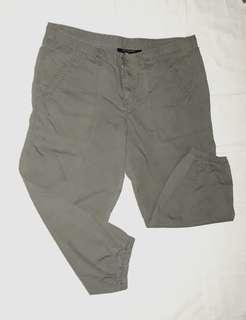 Plus Size CALVIN KLEIN Jogger Khaki Pants