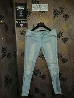 """Lee Ripped Jeans Zip Pants """"Authentic"""""""