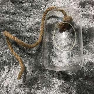 Bullet D10 hanging glass with Rope