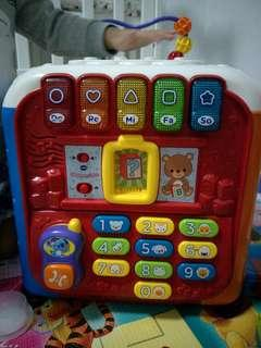 vtech learning abc cube