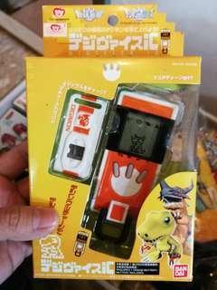 數碼暴龍 Digimon Digivice 暴龍機 一部 連 screen cleaner 兩份(未開封 亞古獸 戰鬥暴龍獸)