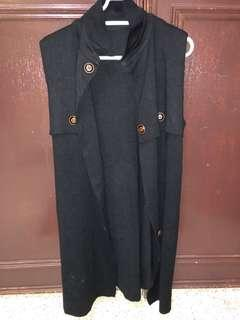 Long vest jacket