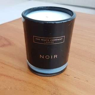 The White Company Noir scented candle