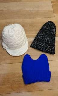 Three (3) New Imported Beanies at RM30 only!!